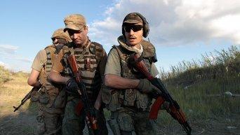Бойцы батальона Сич
