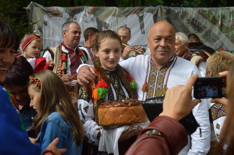 Фестиваль Гуцульская брынза на Закарпатье