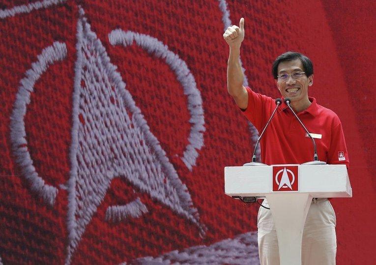 Генеральный секретарь оппозиционной Демократической партии Сингапура Чи Сун Хуан