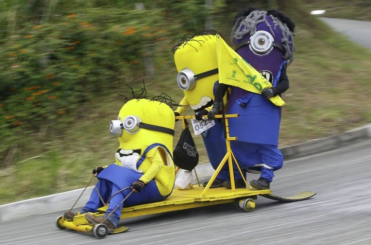 Фестиваль сумасшедших машин в Колумбии
