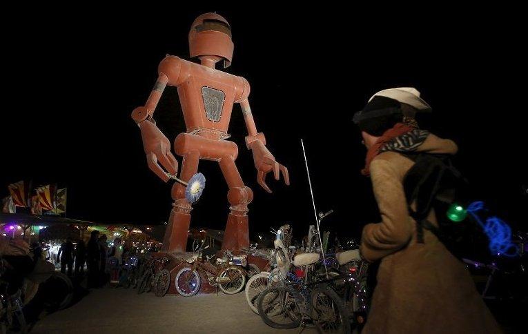 Фестиваль Burning Man в Неваде (США)