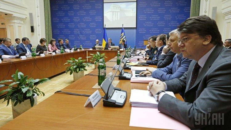 Порошенко и Гройсман на расширенном заседании Кабмина