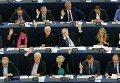 Члены Европейского парламента в Страсбурге