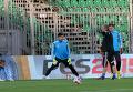 Открытая тренировка сборной Украины в Жилине