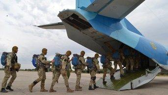 Морпехи отрабатывают разведку и высадку десанта на учениях Sea Breeze-2015