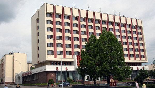 Президент-отель в Минске, где проходят заседания контактной группы по Украине