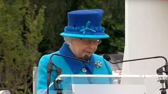 Елизавета II, поставив рекорд правления, поблагодарила подданных за доброту. Видео