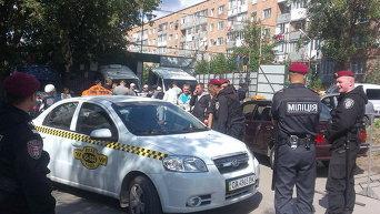 Черкасские милиционеры усиленно патрулируют палаточный городок хасидов