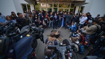 Протест Автомайдана под МВД