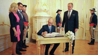 Арсений Яценюк и Андрей Киска