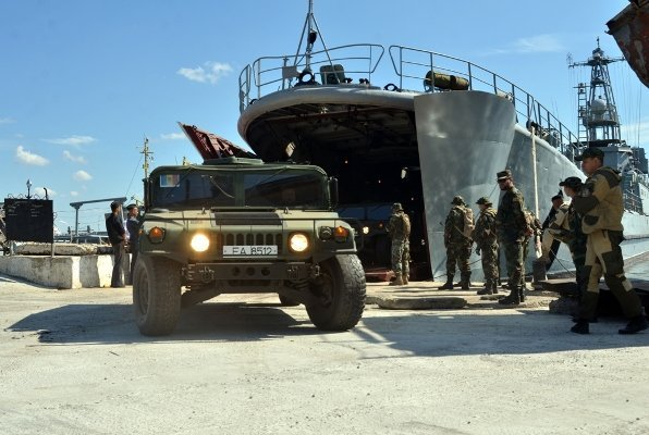 Молдавские военные участвуют в учениях Sea Breeze 2015 в Украине