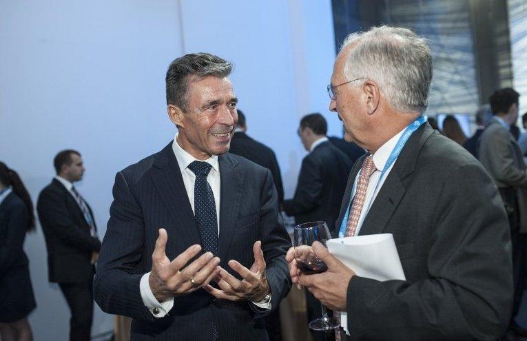 Бывший генеральный секретарь НАТО Андерс Фог Расмуссен на форуме YES-2015