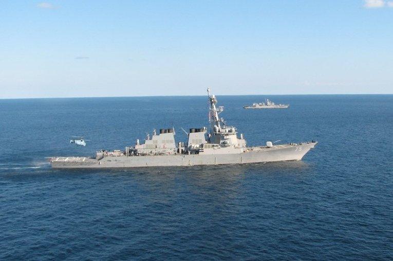 Морская операция учений Sea Breeze по стандартам НАТО