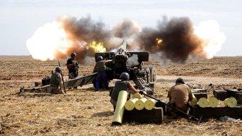 Спецподготовка военных на мариупольском направлении