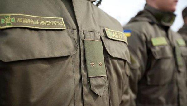 Боец Национальной гвардии Украины