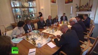 Главы МИД стран нормандской четверки обсудили реализацию Минских соглашений