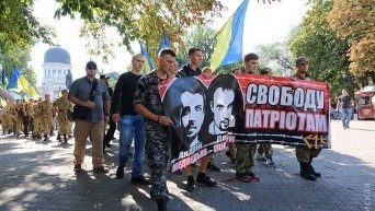 В Одессе прошел марш Свободу политзаключенным