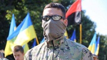 Флаг Украины и ПС