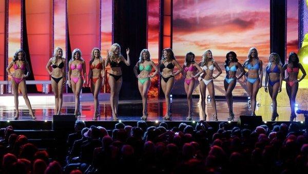 Конкурс красоты Мисс Америка в городе Атлантик-сити американского штата Нью-Джерси