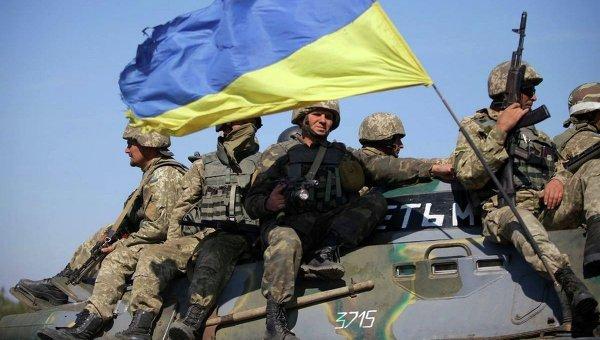 Бойцы ВСУ. Архивное фото