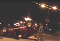 Авария в центре Донецка