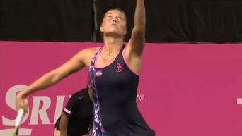 Украинская теннисистка Бондаренко выиграла стартовый матч в Токио. Видео