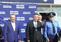 Аваков дал старт набору в патрульную полицию Херсона. Видео