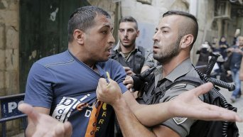 Столкновения в Иерусалиме на Храмовой горе