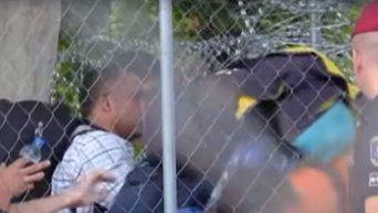 Железный занавес для мигрантов в Венгрии. Видео
