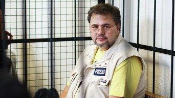 Руслан Коцаба в суде. Архивное фото