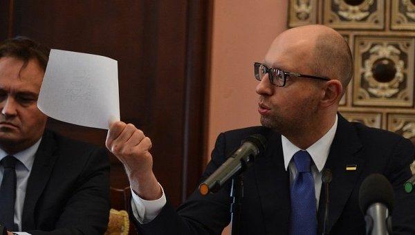 Встреча Арсения Яценюка с религиозными лидерами в Киеве