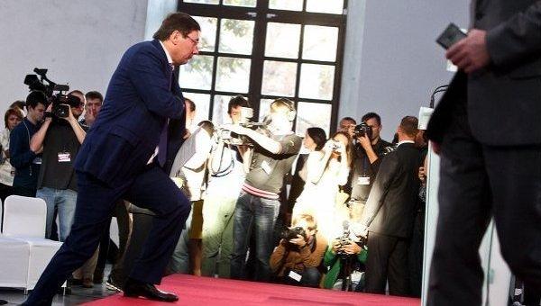 Юрий Луценко на съезде Блока Петра Порошенко Солидарность. Архивное фото