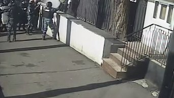 Избиение Беркутом журналистов. Видео