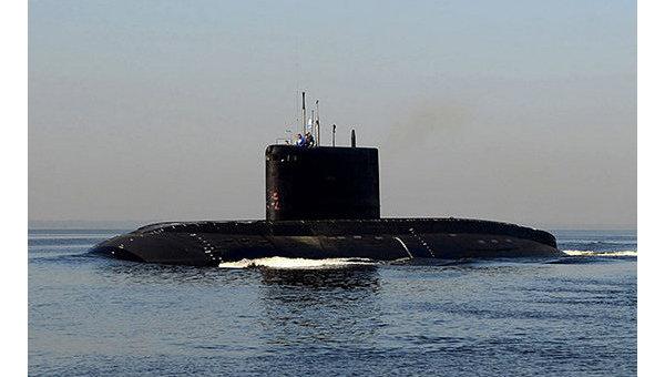 В Черное море прибыла новая субмарина Черноморского флота России
