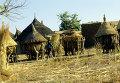 В одной из деревень Республики Буркина Фасо