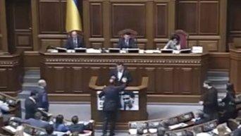 Провальное голосование Рады по отставке Александра Квиташвили
