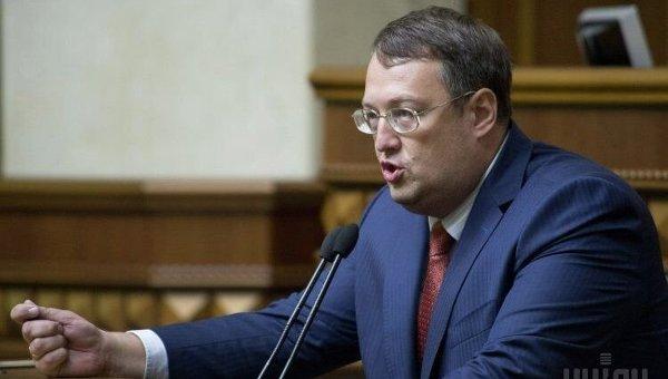 Народный депутат Антон Геращенко. Архивное фото