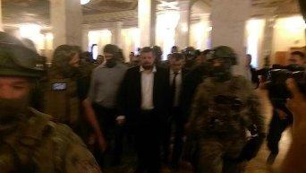 Задержание Мосийчука и обыск его машины