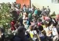Массовое пересечение границы Хорватии беженцами. Видео