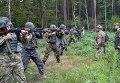 Нацгвардия тренируется на Яворивском полигоне