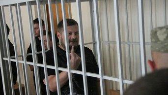 Игорь Мосийчук в зале Печерского райсуда