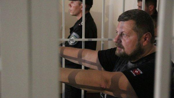 Игорь Мосийчук в зале Печерского суда