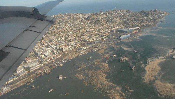 Чили после разрушительного землетрясения