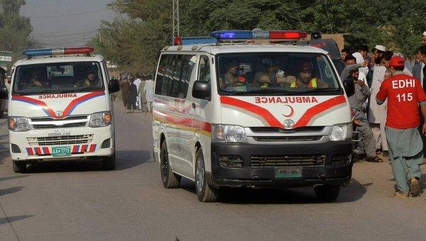 Скорая в Пакистане