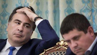 Глава Одесской ОГА Михаил Саакашвили