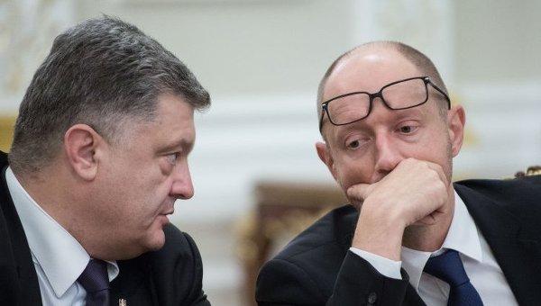 О политическом стиле Порошенко и Яценюка