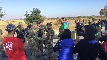 Продовольственная блокада Крыма. Правый сектор на границе