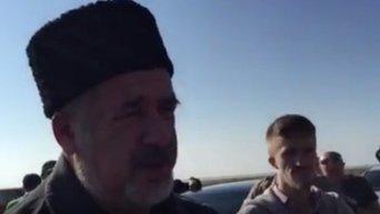 Чубаров рассказал, где крымчане смогут купить украинские продукты. Видео