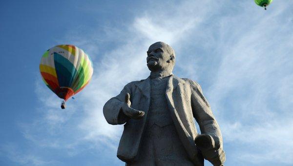 Памятник Ленину в России. Архивное фото
