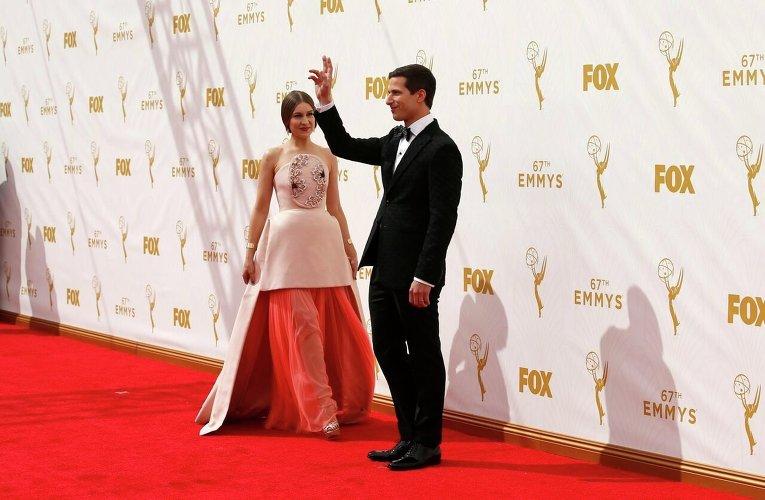 Наряды на церемонии вручения телевизионной премии Эмми